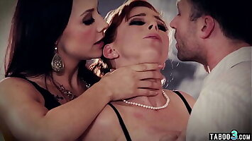 MILF Penny Pax duplicate penetrated by husband and his mistress Chanel Preston