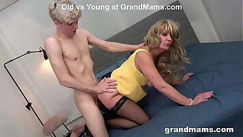 Nasty Granny Fucking out be expeditious for Dreariness